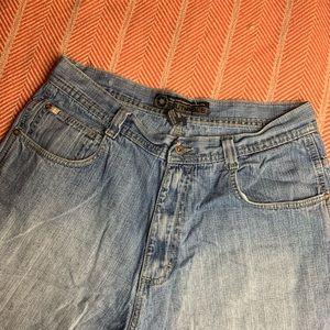 South Pole Wide Leg Jean Shorts 36